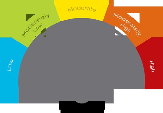 moderate risk